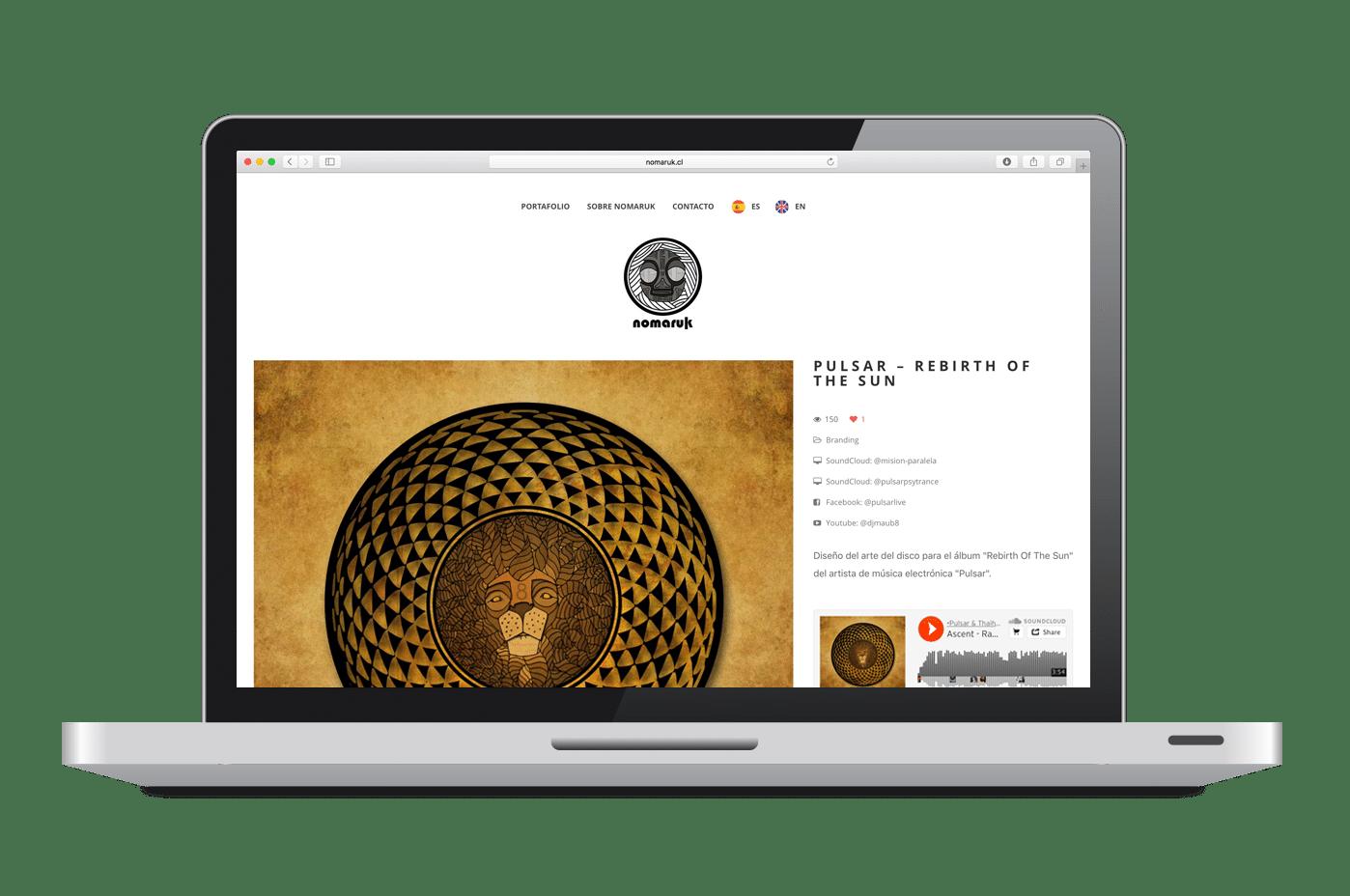 Página Web Nomaruk